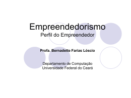 Empreendedorismo_Perfil do Empreendedor