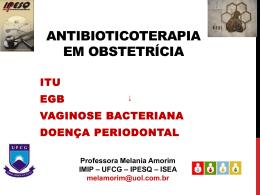 Antibioticoterapia em obstetrícia