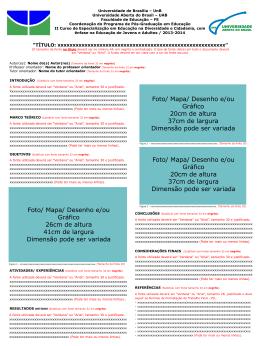Edição orientadora do banner do PILPowerpoint