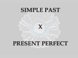 simple past a