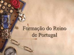 7º Formação de Portugal