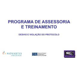 DESVIO & ICH/GCP (E6)