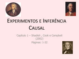 APRES_2010_ Experimentos e Inferencia_Causal