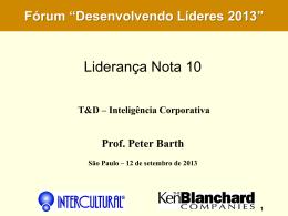 Liderança Nota 10 - Revista T & D Revista T & D