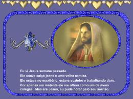 Eu vi Jesus