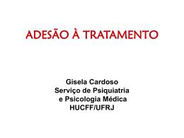 ADESÃO À TRATAMENTO - (LTC) de NUTES