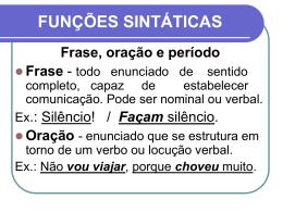 FUNES SINTTICAS
