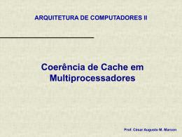 Coerencia de Cache em Multiprocessadores