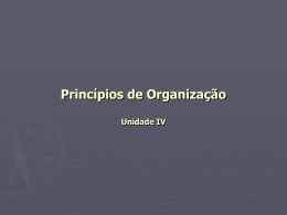 CAPÍTULO 10 DEPARTAMENTALIZAÇÃO