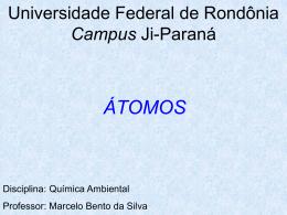 átomos - Departamento de Engenharia Ambiental