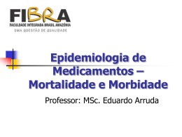 Mortalidade-e-Morbidade - Página inicial