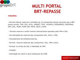 aéreo - Grupo BRT