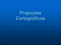 Projeções Cartográficas - Portal