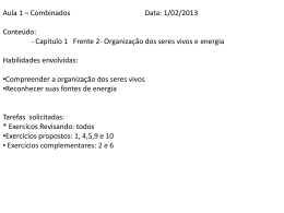 Profº Fernanda - Biologia