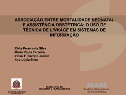 Associação entre mortalidade neonatal e assistência obstétrica