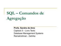 SQL - Agregados