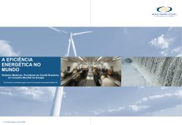o que é eficiência energética? - Comitê Brasileiro do Conselho