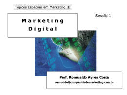 E-Marketing - TFS Comunicação & Marketing