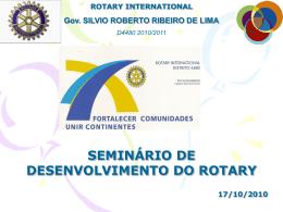 ROTARY INTERNATIONAL Gov. SILVIO ROBERTO