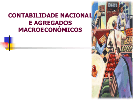 Contabilidade Nacional Produto e Governo.
