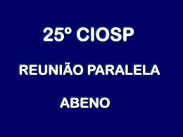 pós-graduação - Associação Brasileira de Ensino Odontológico