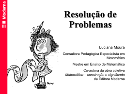 Resolucao de Problemas