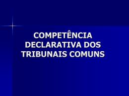 Competência internacional - Faculdade de Direito da UNL