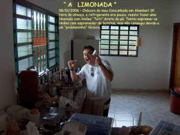 Queimaduras de Limão