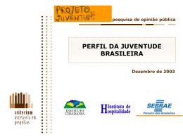 Perfil da Juventude Brasileira