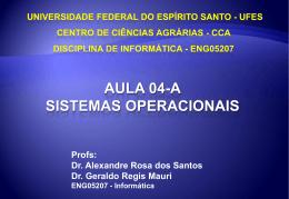 Módulo IV Sistemas operacionais