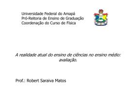 avaliação_ens_fis - Universidade Federal do Amapá