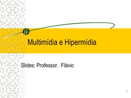 3_Multimidia_e_Hipermidia - Curso Avanços