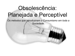 obsolescencia planejada
