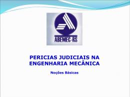 Clique para Baixar a Palestra em Power Point - ABEMEC-RS