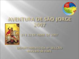 S. Jorge Patrono dos Exploradores - PlaceHolder for fafe.braga.cne