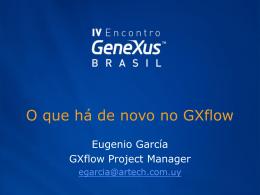 O que há de novo Gxflow 8.5