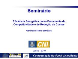 Apresentação sobre Eficiência Energética