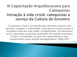 Pré-Catecumenato