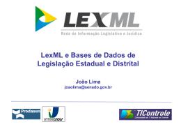 LIMA_01 - Projeto LexML - Rede de Informação Legislativa e