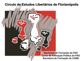 Slide 1 - Coletivo Anarquista Bandeira Negra