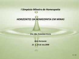 Slide 1 - Serviço Phýsis de Homeopatia