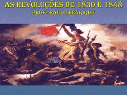 Revoltas Liberais na Europa no seculo XIX