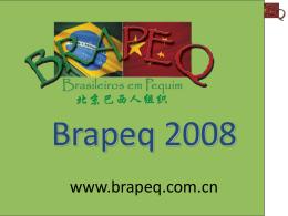 Brasileiros em Pequim