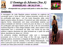 II Domingo Advento (AnoA)
