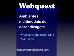 WebQuest - Reinildes