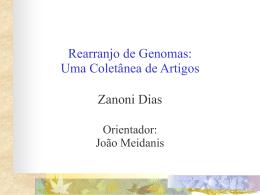 Rearranjo de Genomas: Uma Coletânea de Artigos Zanoni Dias