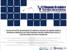 Pequena Central Hidrelétrica Luiz Dias