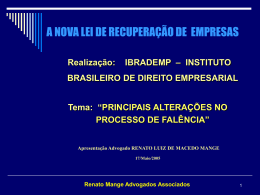 Art. 83 - Instituto Brasileiro de Direito Empresarial