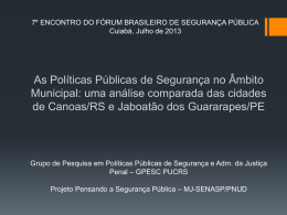Seminário do Inct-INEAC Niterói, fevereiro de 2013