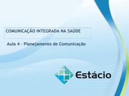 comunicação integrada na saúde